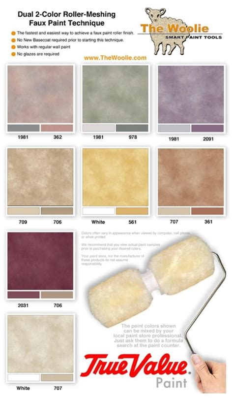 true value paint faux finish paint color combinations