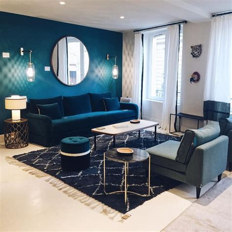 Idee Deco Salon Bleu by Dossier D 233 Co Bien Choisir Canap 233 Id 233 Es Deco