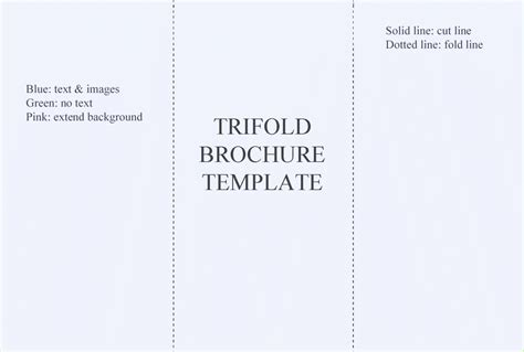 template brochure word a4 blank free brochure templates for word
