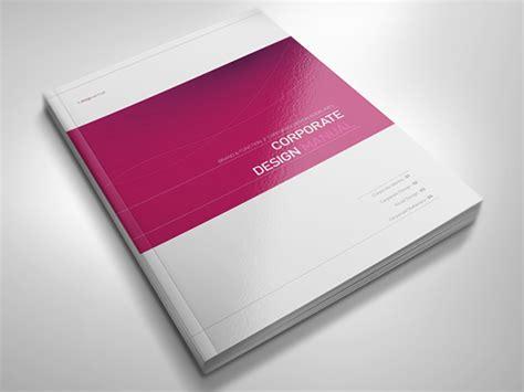 cover design handbook corporate design manual book cover