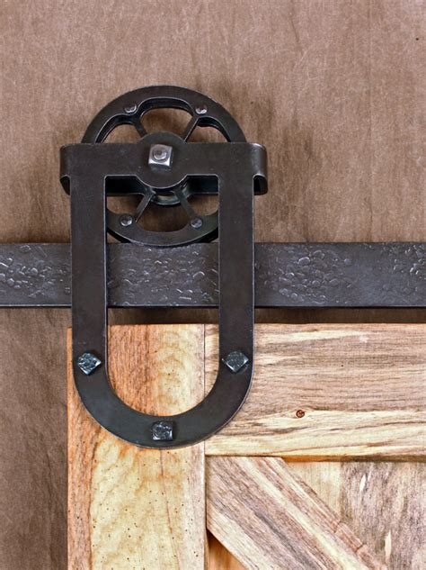 Barn Door Trolley Barn Door Tracks Ponderosa Forge Ironworks
