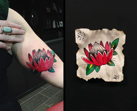 tattoo protea flower 8 best images about tattoos of proteas on pinterest