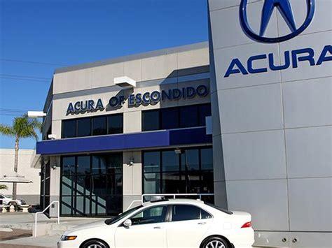 acura of escondido escondido ca 92029 car dealership