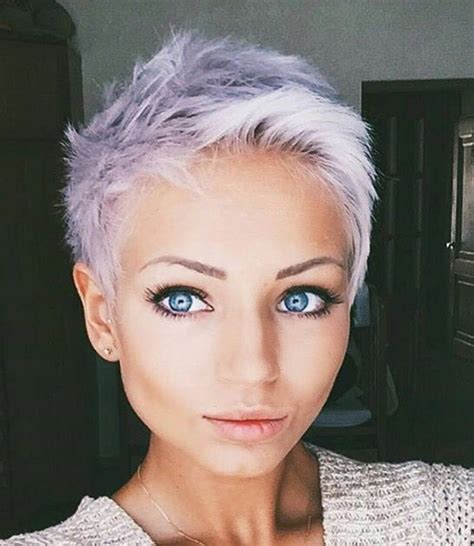 hair cut color under 75 00 such an adorable pixie love the color half shaved