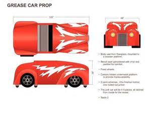 Grease Lightning Cardboard Car Greased Lightening By Darla Kickstarter