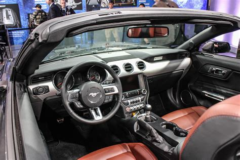 interior of 2015 mustang 2015 ford mustang official photos specs and