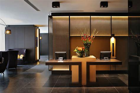 Lobby Hotel Brussels Reception Desk Millwork And Hotel Reception Desk