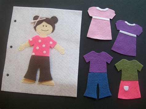 felt dress up doll template serving pink lemonade book