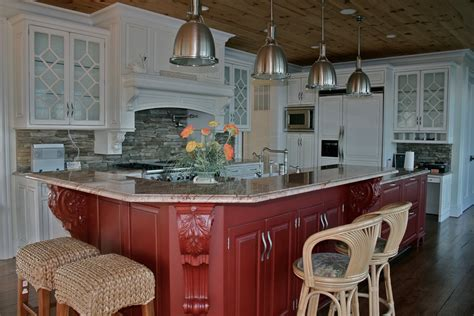 kitchen island red red kitchen island