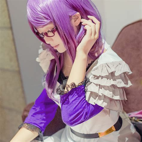 Wig Base Purple Wig Rize 13 best tokyo ghoul rize kamishiro rolecosplay