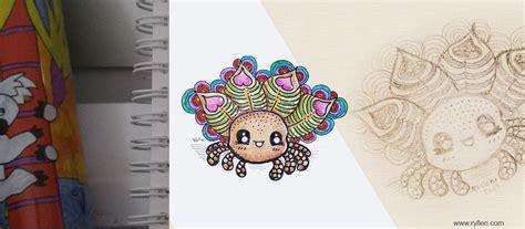 doodle article doodle challenge jour 16 les insectes ryllen s creations