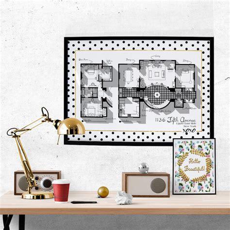 tv show floor plans gossip apartment floor plan tv show floor plan blair