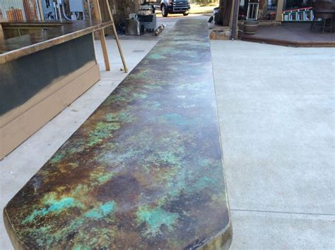 Concrete Countertops Designs by Best 25 Stained Concrete Countertops Ideas On