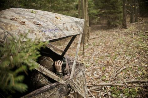 Bow Blind Windows 3 advanced ground blind hunting tips for bowhunters realtree