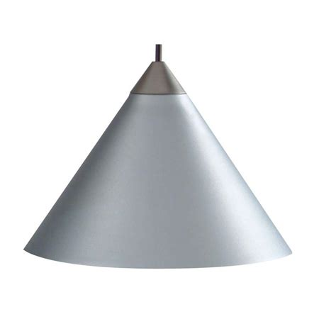 Juno 1 Light Silver Short Cone Metal Pendant Kit PKH P311 SLVR The Home Depot