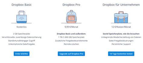 dropbox kostenlos gratis 2 gb dropbox cloudspeicher