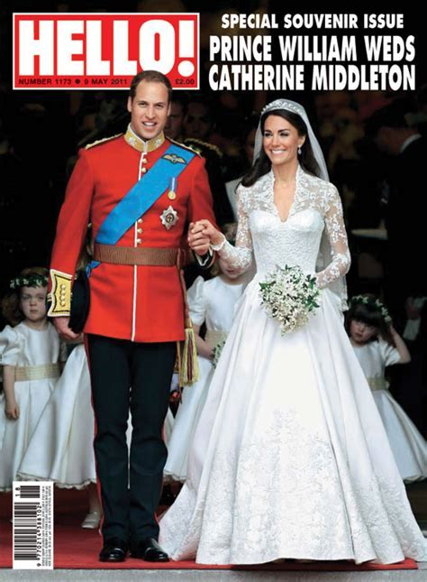Hello! magazine's royal wedding coverage nominated for