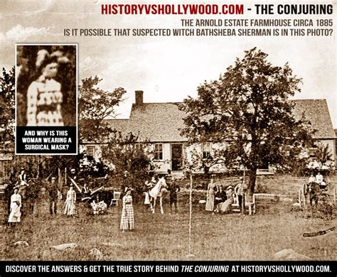the conjuring house real conjuring house photo circa 1885 perron farmhouse haunting