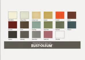 rustoleum color chart the world s catalog of ideas