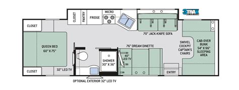 four winds rv floor plans rv class c floor plans gurus floor