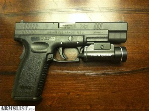springfield xd tactical light armslist for sale springfield xd tactical 45 acp 5