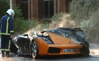 Lamborghini Rarest Car Lamborghini Bursts In Flames Autoevolution