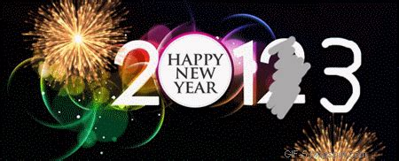 new year animated gif free gif 5 2013 new year text fireworks vectors