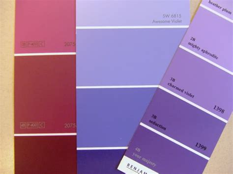 shades of purple paint shades of purple paint chart www imgkid com the image