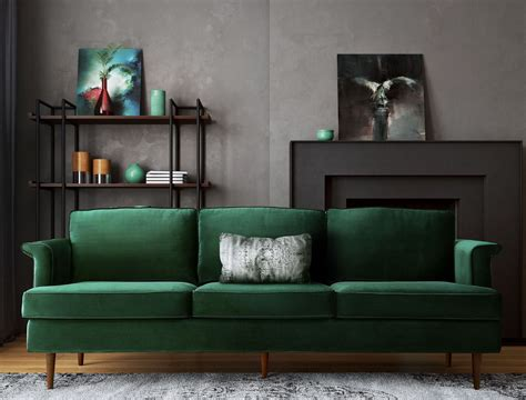 forest green sofa and loveseat porter forest green sofa from tov coleman furniture