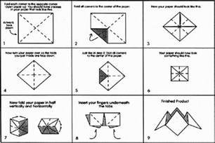 How To Make Cootie Catchers Out Of Paper - how to make a cootie catcher fold a cootie catcher