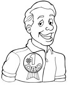 Mother and father colouring pages