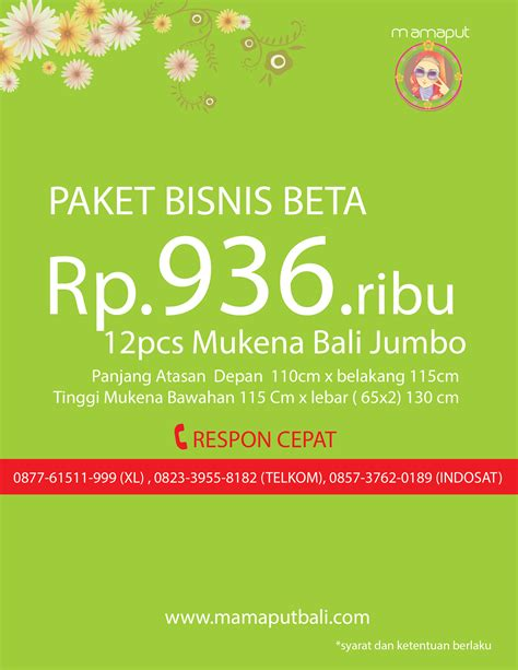 Mukena Bali Jumbo Pelangi paket mukena bali 2014
