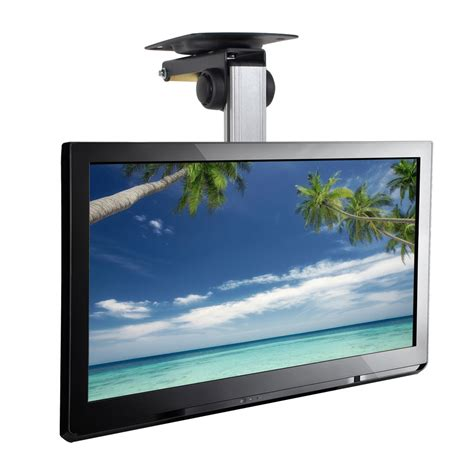 Tv Mounted From Ceiling by New Pyle Pcmtv25 Universal Folding Hide Away Tv Ceiling