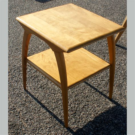 22 quot vintage heywood wakefield two tier side table ebay
