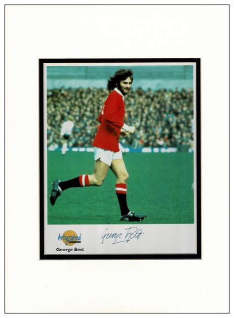 george best signed photo george best autograph signed photo