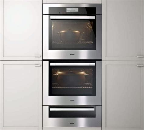 Oven Miele miele h6780bp2 30 inch electric wall oven with 4 6