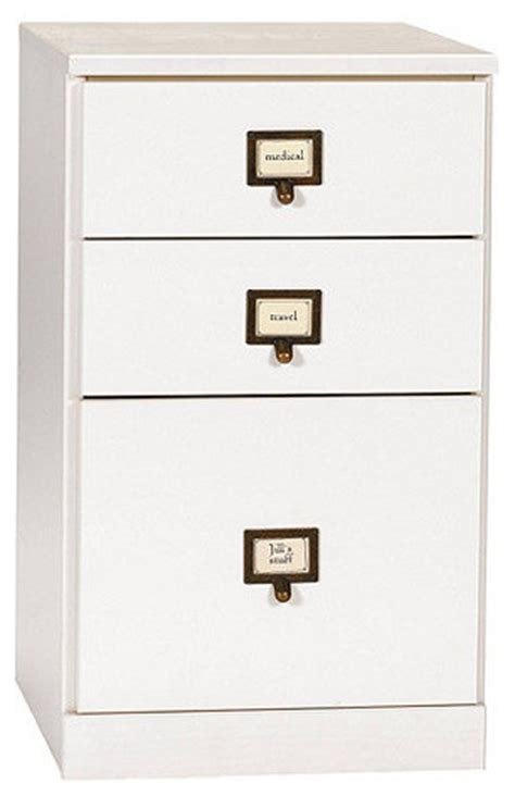 original home office 3 drawer file cabinet contemporary