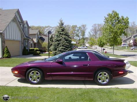 1995 Pontiac Firebird by 1995 Pontiac Firebird Information And Photos Momentcar