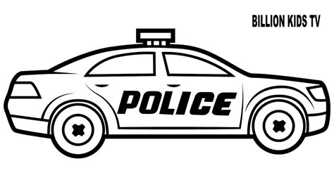 coloring pages of police cars police car coloring pages beauteous design ideas