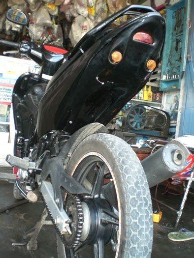 Spakbor Belakang Yamaha Dt125 Spakbor Belakang Trail Yamaha Dt125 Endu undertail spakbor belakang variasi sepeda motor murah