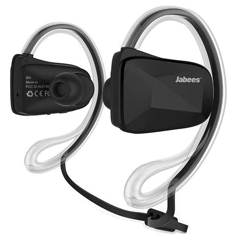 Headset Bluetooth Jabees jabees bsport bluetooth stereo headset sort