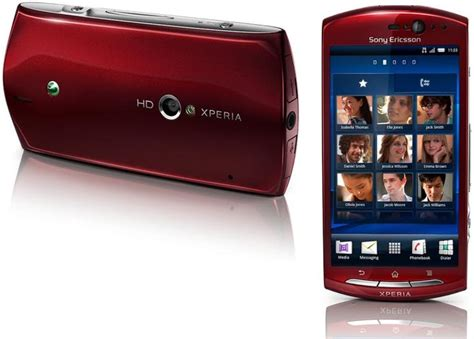 Hp Sony Xperia Neo Mt15i the sony ericsson xperia neo takes android 2 3 gingerbread mainstream with its 3 7 quot 480x854