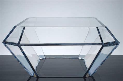 acrylic cube coffee table alexandra furstenberg s plexiglass furniture trendland