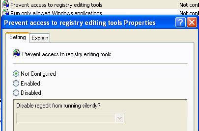 editing is not enabled fix registry editing has been disabled by your