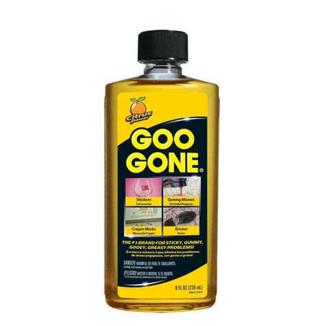 What To Do About The Goo by Goo Be Decal Adhesive Remover Removal Uk 8oz Ebay