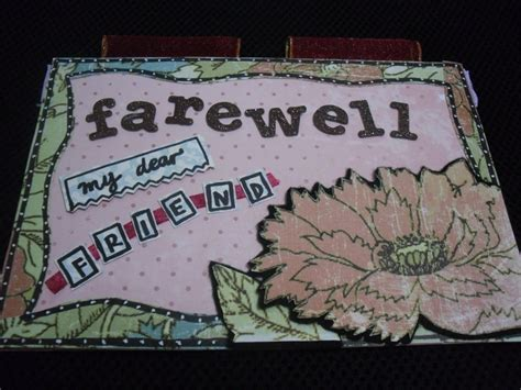 Handmade Farewell Cards - handmade invitation cards for farewell images