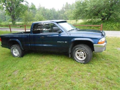 dodge dakota 2 door purchase used 2000 dodge dakota slt extended cab 2