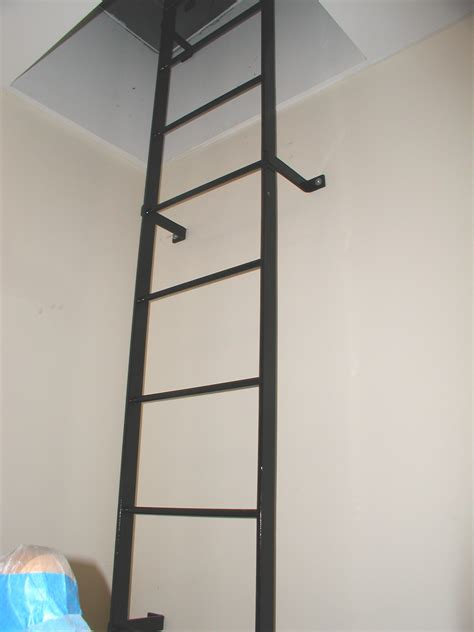 Ceiling Access Ladder by 1000 Ideas About Attic Access Ladder On