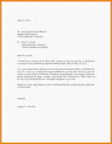 I Want Resignation Letter Format by 5 Resignation Letter Sle With Reason Better Opportunity Report
