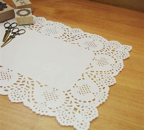 paper doily wedding decorations 50x recentangle paper lace doilies 7 x12 wedding